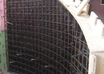 Treppenschalung für Sichtbeton