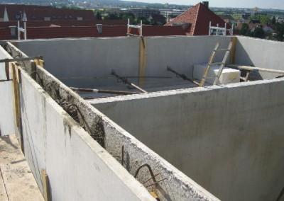 Beton-Fertigteile, Wandplatten, Sandwichplatten