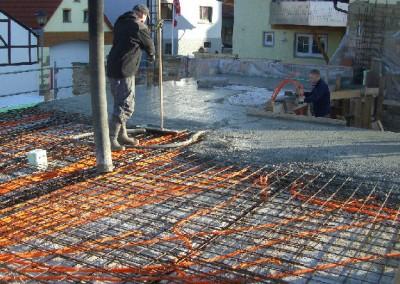 Decke betonieren