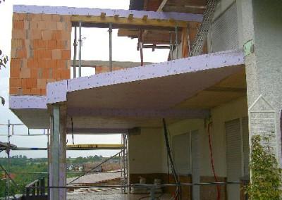 Anbau mit Terrasse