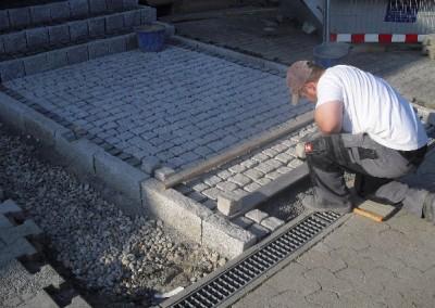 Granitpflasterarbeiten