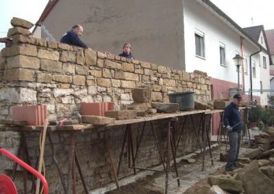 Natursteinmauerwerksarbeiten