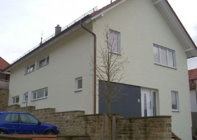 """Neubau mit Natursteinmauer """"Flehingen"""""""