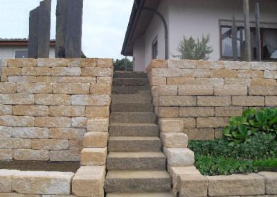 Treppenanlage mit Terrassen