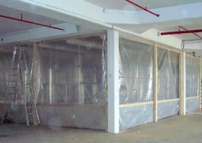 Umbau - Lichthof - Vorbereitung - Betonsägearbeiten