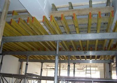 Umbau - Lichthof - Deckenabstützung